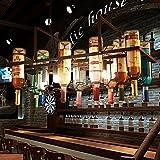 HJR-Pendelleuchten Europäischen Stil Retro Kreative Bar Restaurant Cafe Kunst Flasche Glas Kronleuchter A+