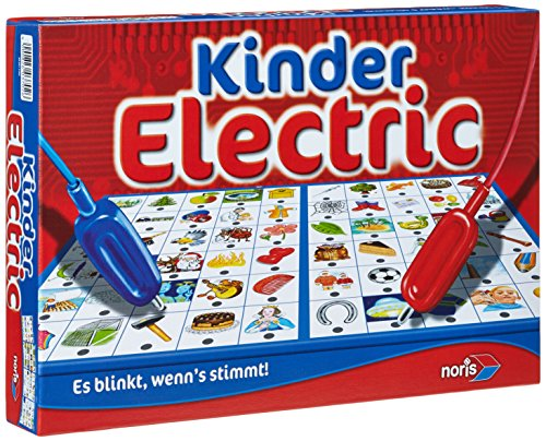 Noris Spiele 606013702 - Kinder Electric, Kinderspiel