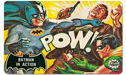DC Comics-Retro Vintage fruehstuecksbrettchen tagliere-Batman-In Action