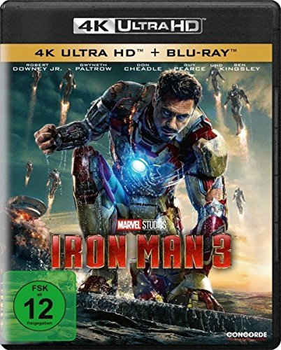 Iron Man 3 - Ultra HD Blu-ray [4k + Blu-ray Disc]