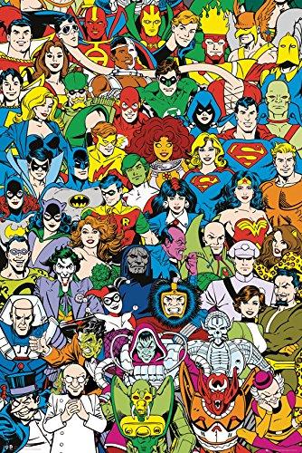 GB Eye LTD, DC Comics, Retro Cast, Maxi Poster, 61 x 91,5 cm