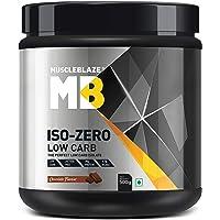 Muscleblaze Iso-zero Zero-carb 100% Whey Protein Isolate (Chocolate, 0.5 Kg / 1.1 lb)