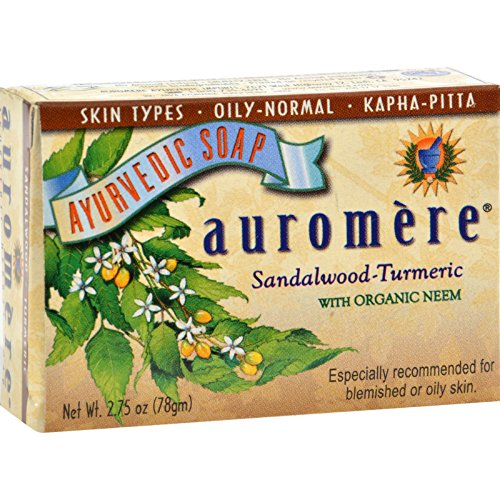 pack-of-1-x-auromere-ayurvedic-bar-soap-sandalwood-turmeric-275-oz