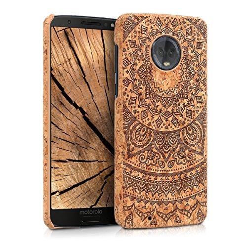 kwmobile Funda para Motorola Moto G6 - Carcasa Protectora de [Corcho] para...