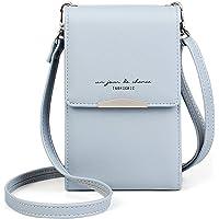 Katech Handtasche Damen Kleine, Multifunktionale Handytasche Citytasche Schultertasche mit Vielen Fächern und…
