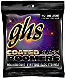GHS 4-String Coated Boomers Bass Guitar Strings (Long Scale)40-95 Light