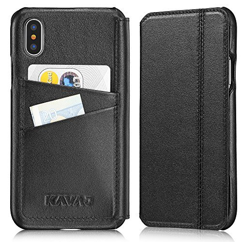 KAVAJ Coque Cuir Sacoche Dallas pour Apple iPhone...