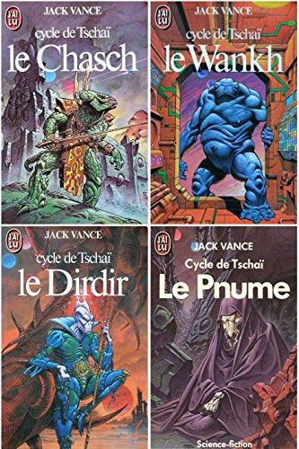Le cycle de Tschai en 4 tomes complet : 1 Le chasch - 2 Le wankh - 3 Le dirdir - 4 Le pnume