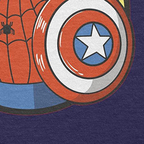 TEXLAB - Spider Boy - Damen T-Shirt Navy
