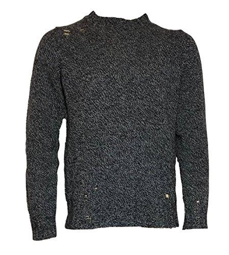 Diesel -  maglione  - uomo grigio l
