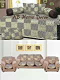 Ab Home Decor Combo of Check Design Diwa...