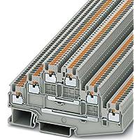 Phoenix PT 1.5/S-3L Gris - Electrical terminal block (3,5 mm, 97,2 mm, 500 V)