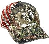 Unbekannt Dodge Ram Mossy Oak Country Americana Patriotische Mütze