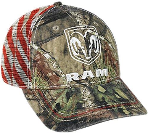 Unbekannt Dodge Ram Mossy Oak Country Americana Patriotische Mütze -
