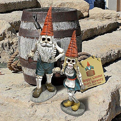 'Interpret Design Toscano Bayerische Oktoberfest Skelett Hans gnome