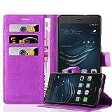Cadorabo Coque pour Huawei P9 Lite en ORCHIDÉE Violets - Housse Protection avec...