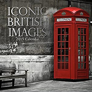 """Iconic British Images 2015 Wall Calendar 12""""x12"""""""