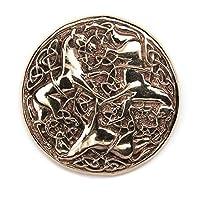 Bronze Schmuck Fibel GewandnadelGröße: 6cm x 7,5cmDiese Bronzefibel ist hochwertig verarbeitet und hat einen beweglichen Fibelverschluss, der auch schon im Mittelalter verwendet wurde.Sie finden in unserem Sortiment auch Bronzeketten und Bronzeanhäng...