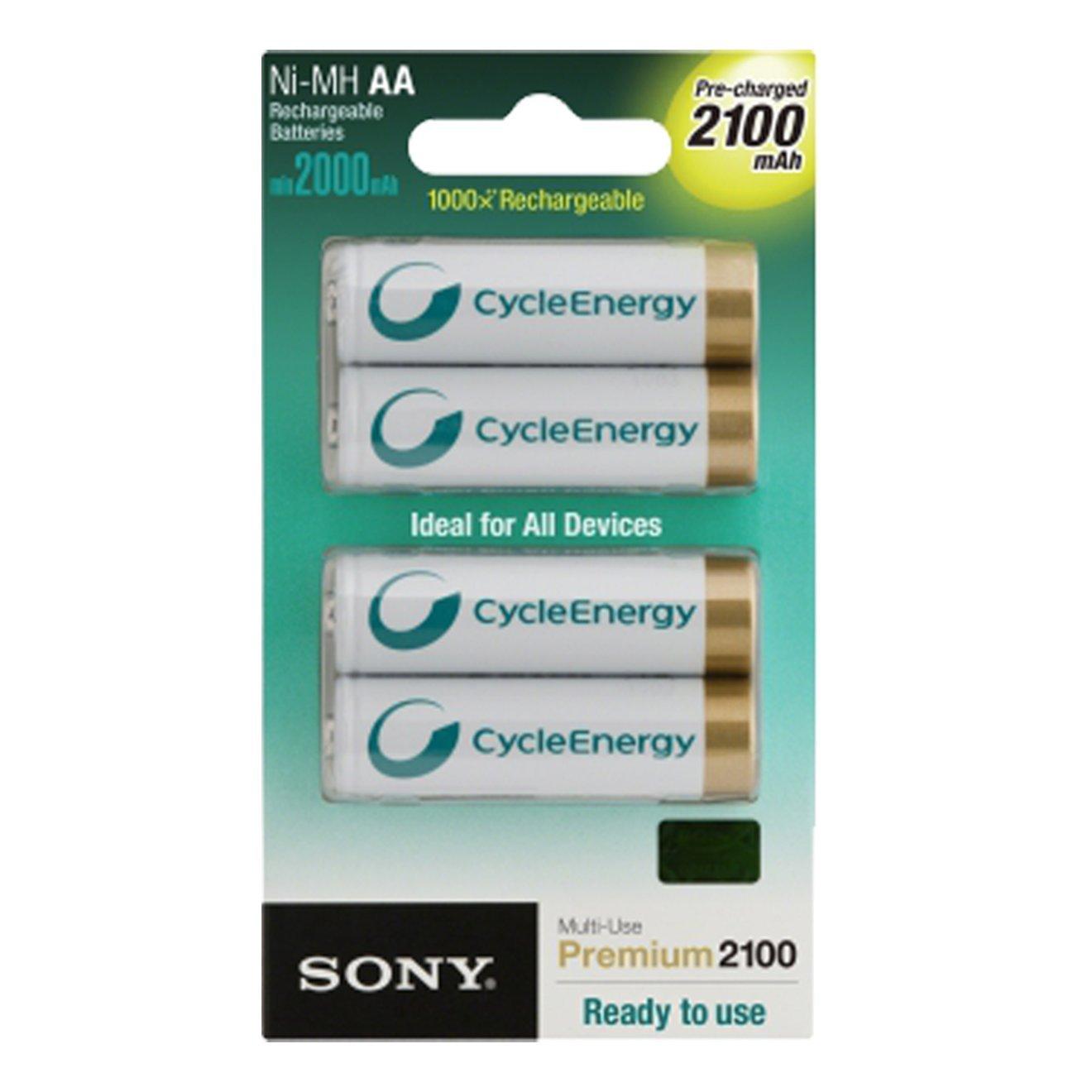 Sony Stilo Ricaricabile 2000Mah 4 Pz Bl
