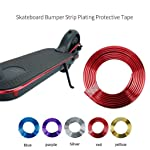 Sumeier Body Anti-Collision Strip - 6.67 Feet Plating Decorative Bumper Strip Scratch Prevention Protective Tape for...