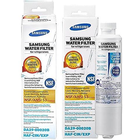2 x Original Samsung Filter DA29-00020B /