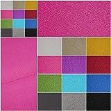 Verdunklungsstoff, blickdicht – Meterware ab 50cm in 9 Unifarben. 100% Polyester - schwere Qualität - Thermo-Rückseite - Textiloberfläche- waschbar | Blackout – für Vorhänge und Raumtrenner (pink)