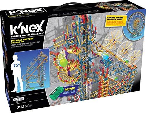 Knex – Big Ball Factory – Kugelbahn-Bausatz – 3152 Bausteine