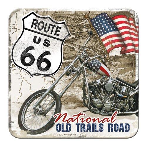 Nostalgic-Art 46111 US Highways Route 66 Desert Old Trails Road, Untersetzer