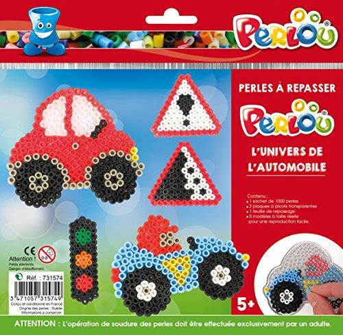 Kit perles et plaques standard (Ø5 mm) - Univers l'automobile - Perlou
