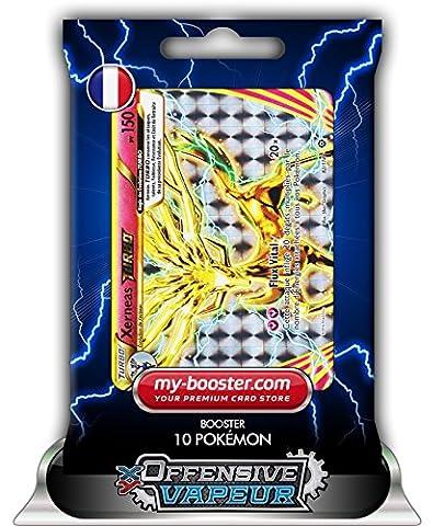 XERNEAS TURBO 82/114 150PV XY11 OFFENSIVE VAPEUR - Booster de 10 cartes Pokemon francaises my-booster