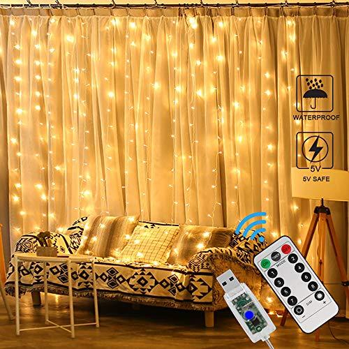 Zorara Cortina de Luces LED Navidad
