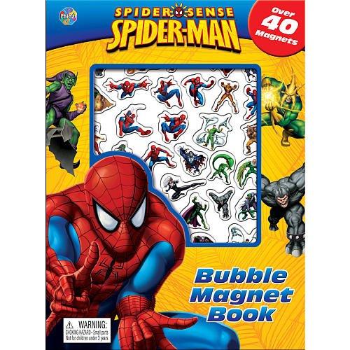 Spiderman Bubble Magnet