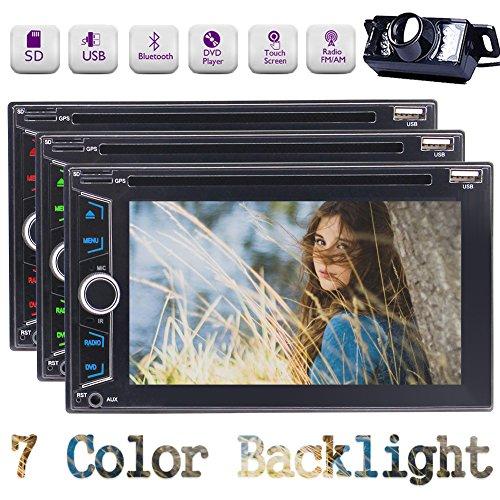 EINCAR Doppel-DIN In-Dash-DVD-Receiver 6.2