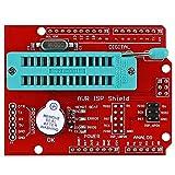 #8: xcluma AVR ISP Shield Burning Bootloader Programmer for Arduino UNO R3 AA3468