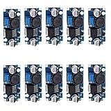 Alphabeeboo LM2596S DC-DC Stromversorgung Power Supply Buck Converter Spannungsregler Verstellbarer Step Down 3A Modul für Arduino (Pack von 10)