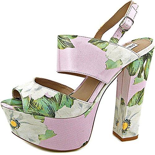 Steve Madden Plural Femmes Synthétique Sandales Compensés Floral