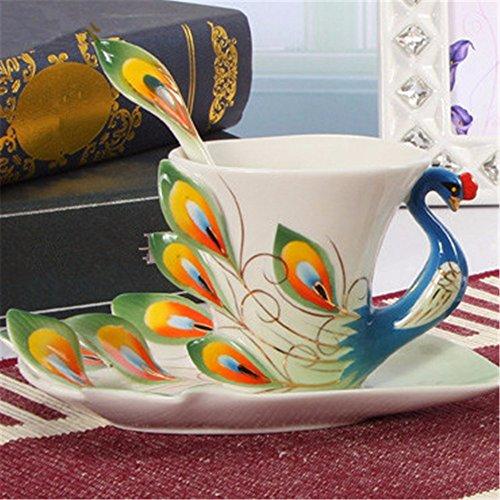 creative-smalto-pavone-porcellana-tazza-da-caffe-dono-117482cmverde