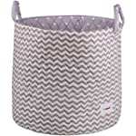 Minene Large Storage Basket with Grey...