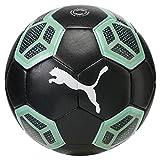 Puma 365 Hybrid Ball Fußball, Black/Biscay Green/White, 5