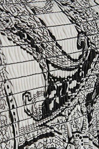 FK Styles -  Maglia a manica lunga  - Donna Paisley Print