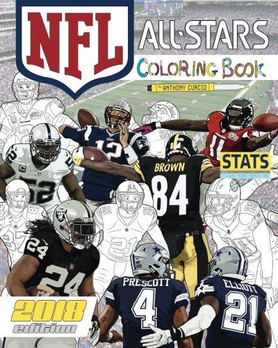 NFL All Stars 2018  The Ultimate Football Coloring 22dda4deb697b