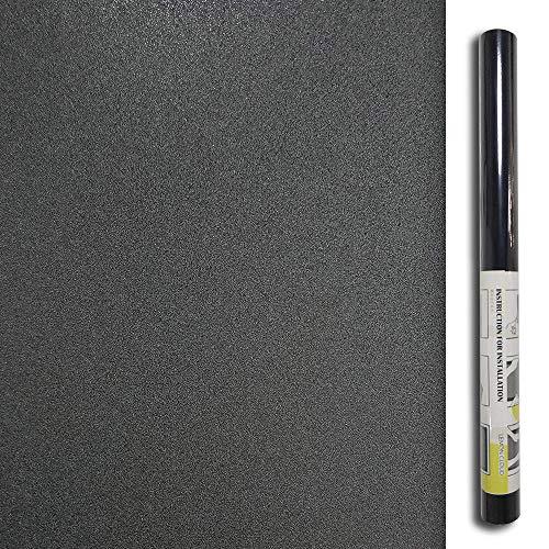 LEMON CLOUD Blackout Fensterfolie Sichtschutz Fenster klammert Sich an Nicht klebend Fenster Aufkleber 100% Licht blockierender 35,4in. von 78,7in