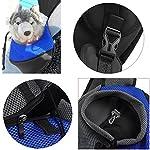 ASOCEA Portable Pet Dog Cat Puppy Carrier Outdoor Sling Carrier Bag Single Shoulder Bag for Small Dog 8