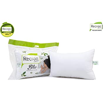 Recron Certified Bliss Pillow (White)