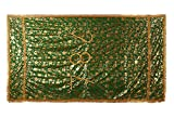 #8: Loops n knots Geen Printed Dargah Chadar /Holy Cloth For Dargah /Mosque/Shrine Of Sufi /Muslim Saint