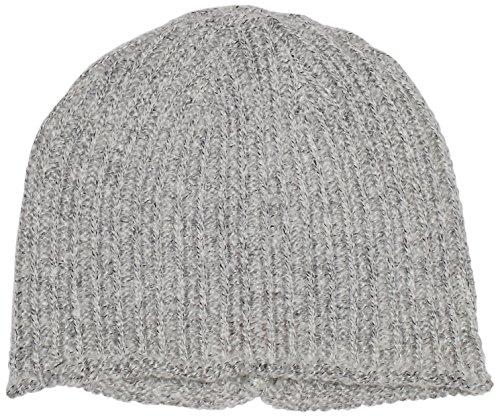 s.Oliver Damen Strickmütze Jaquard, Gr. One size, Grau (grey/black knit 90X1)