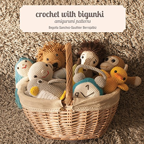 Crochet with bigunki. Amigurumi patterns