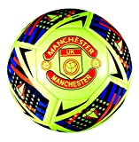 Spedster Manchester Football 2018-2019 Limited Edition Top Quality Match ball Size 5,4,3 (The Football is packed in a Beautiful Net Gift Bag) (3)