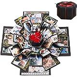 Boite Cadeau Creative, Boîte Surprise Explosion DIY Mémoire Box Album Photo Scrapbooking Album Photo Gift Box Cadeau Annivers