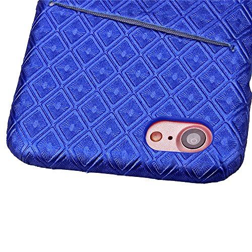 Ecoway Colorful imprimé Protection en PC Cuir Etui PC Hard Case Housse Cover Coque Rigide Dur Protection Pour Housse Protection Coque Étui pour iPhone 7 (4,7 zoll)